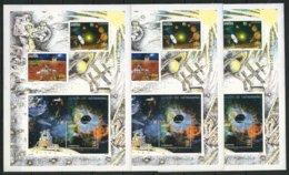 """ALBANIA - EUROPA 2009 - TEMA  """"ASTRONOMIA"""" - THREE BOOKLETS  - SOUVENIR SHEET With SET + BLOC - PERFORATED - Europa-CEPT"""