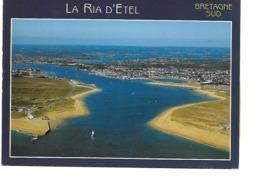 56 LA RIA D'ETEL Cpm L'Ilot De Saint Cado, Belz, Pont Lorois Et Le Port D'Etel - Francia
