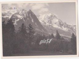 Aosta Courmayeur Monte Bianco Gd Jorasses Giugno 1953 Fotografica 8x11 - Unclassified
