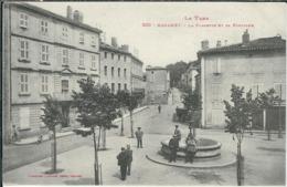 Tarn : Mazamet, La Placette Et La Fontaine - Mazamet