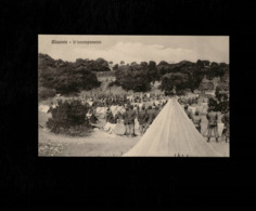 Cartolina Posta Militare - Misurata L'accampamento - Militari
