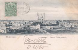 CPA Uruguay - Montevideo - Aguada - Vista General - 1905 (Etat Voir Photos) - Uruguay