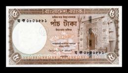 Bangladesh 5 Taka 2006 Pick 46 SC UNC - Bangladesh