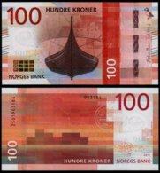 NORWAY 100 KRONER (P54) 2016 (2017) UNC - Noorwegen