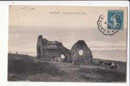 CPA France 50 - Carteret - Ruines De La Vieille Eglise   - Achat Immédiat  (cd005) - Carteret