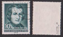 Heinrich Heine DDR 516 YII Geprüft Schönherr VP Gestempelt - DDR