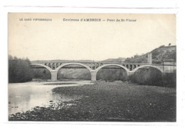 CPMJ3481 LE GARD PITTORESQUE ENVIRONS D AMBROIX PONT DE ST VICTOR - Unclassified