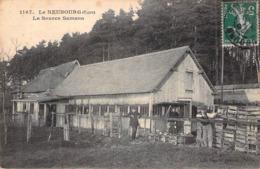 C P A 27] Eure  Le Neubourg La Source Sanson  Carte Animée - Le Neubourg