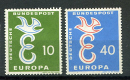 Allemagne * N° 164/165 - Europa 58 - Europa-CEPT