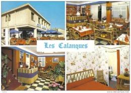 """Carte Postale 13. Marseille  Hotel-restaurant """"Les Calanques""""  Trés Beau Plan - Quatieri Sud, Mazarques, Bonneveine, Pointe Rouge, Calanques"""