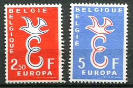 Belgique ** N° 1064/65- Europa 58 - 1958