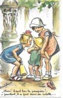 GERMAINE BOURET HUM IL SENT BON LE POMPIER EDITION M.D.  2 SCANS Postée En 1961 Bon état - Bouret, Germaine
