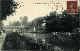 Cp Beaulieu Loiret, Canal Et Lavoir - Autres Communes