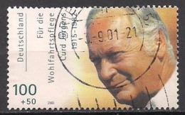 Deutschland  (2000)  Mi.Nr.  2144  Gest. / Used  (8fi32) - BRD