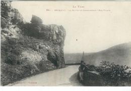 Tarn : Mazamet, La Route De Carcassonne, Roc Vilain - Mazamet