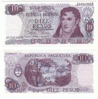 Argentina P 295 - 10 Pesos 1973 1976 - AUNC - Argentina