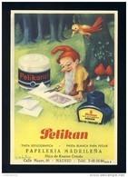 Buvard PELIKAN Num. 1913 R. Encre, Gnomes (Ref. 99696-1913R) - Buvards, Protège-cahiers Illustrés
