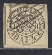 Etats Pontificaux 1852 Yvert 5b (o) B Oblitere(s) - Etats Pontificaux