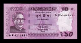 Bangladesh 10 Taka 2017 Pick 54h SC UNC - Bangladesch