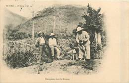 TONKIN  Yunnan   Europeens Dans La Brousse       INDO,0115 - Vietnam