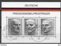 Germany/Bund Mi. Nr.: 871 - 73  Block 11 Gestempelt  (brg75er) - BRD