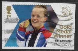 GROSSBRITANNIEN GRANDE BRETAGNE GB 2012 PARALYMPICS:SWIMMING WOMEN'S 200M IND. MEDLEY SM6 1ST SG 3388 MI 3343 YT 3736 SC - 1952-.... (Elizabeth II)