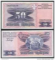 Bosnia Herzegovina P 47 - 50 Dinara 1995 - UNC - Bosnia Erzegovina