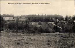 Cp Mandres Val De Marne, Villecresnes, Vue Prise De Radio-France - Otros Municipios