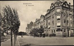 Cp Thionville Diedenhofen Lothringen Moselle, St. Peterstraße - France
