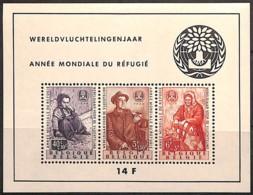 [651052]BELGIQUE 1960 - BL32, Réfugiés, Le Bloc , Fraîcheur Postale - Blocs 1924-1960