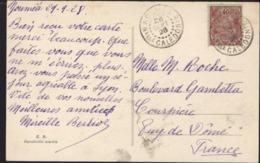 YT 98 Nouvelles Calédonies Rade Nouméa CAD Nouméa 28 Sept 28 CPA Nouvelles Hébrides Canal Second Santo Prise D'Aoré - Briefe U. Dokumente