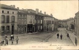 Cp Etain Meuse, Place Carnot - Francia