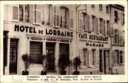 Cp Commercy Lothringen Meuse, Hotel De Lorraine, P. Boudin - France