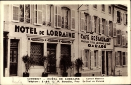 Cp Commercy Lothringen Meuse, Hotel De Lorraine, P. Boudin - Other Municipalities