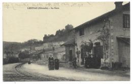 33-LESTIAC-La Gare...1917  Animé - Andere Gemeenten