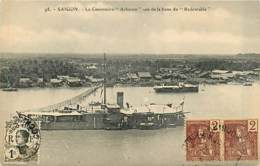 TONKIN   SAIGON  Cannoniere «acheron»         INDO,402 - Vietnam