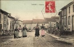 Cp Lucey Meurthe Et Moselle, Chefrue - France