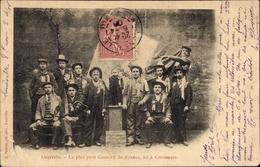Cp Luneville Meurthe Et Moselle, Le Plus Petit Conscrit De France - Francia