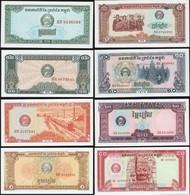 Cambodia SET - 0.10 0.20 0.50 1 Riel 1979 - UNC - Cambogia