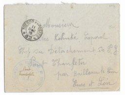 1916 - PRISONNIERS De GUERRE - ENVELOPPE FM Du SP 32 => DETACHEMENT De BALLEAU LE PIN (EURE ET LOIR) - RARE - Marcophilie (Lettres)