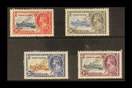 "1935  Silver Jubilee Complete Set Perforated ""SPECIMEN"", SG 103s/106s, Fine Mint. (4 Stamps) For More Images, Please Vis - British Virgin Islands"