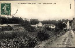 Cp Labonneville Val-d'Oise, Les Villas De La Rue De L'Oise - Frankreich