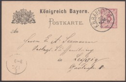 "P 30/06, Bahnpost ""München-Nürnberg"", Bedarf - Bayern"