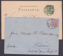 31/2, Je Als EF Auf Bedarfsbeleg - Briefe U. Dokumente