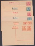 """P 119/23 """"Germania"""", Alle Karten Aus 1920 Mit Doppelkarten, Ungebraucht - Germania"""