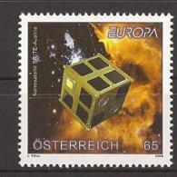 "AUSTRIA - EUROPA 2009  - TEMA  ""ASTRONOMIA"" - SERIE De 1  V.  - DENTADA  (PERFORATED) - Europa-CEPT"