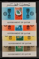 1966  Football World Cup Complete Set Of 25np Imperf Miniature Sheets, SG MS197, Never Hinged Mint. (4 Mini-sheets) For  - Qatar