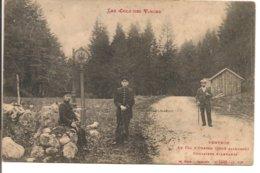 L80B_329 - Ventron - Au Col D'Oderen (côté Allemand) - Douaniers Allemands N° 4966 - Frankreich