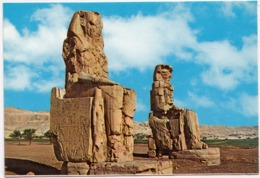Egypt, THEBES, The Memnon Colossi, Unused Postcard [23585] - Other