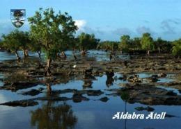Seychelles Aldabra Atoll View UNESCO New Postcard Seychellen AK - Seychelles